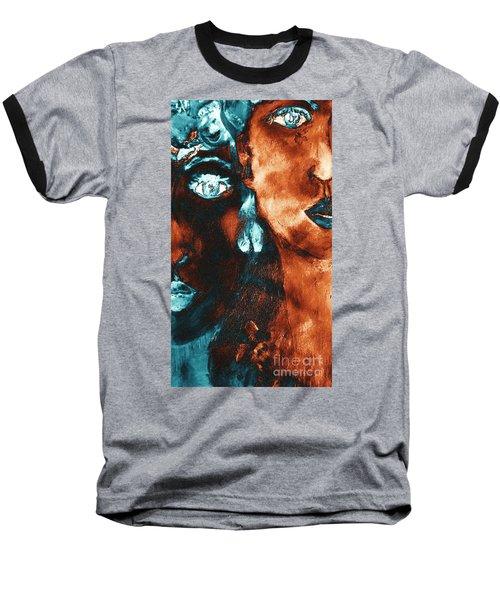 Bronze Sisters Painting Baseball T-Shirt