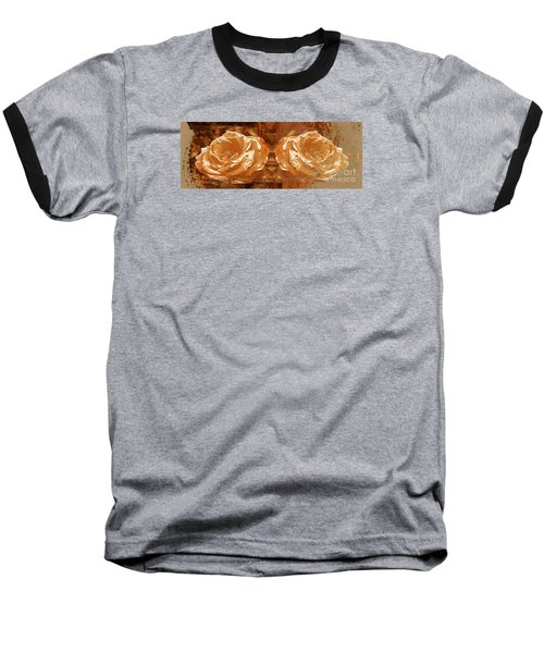 Bronzed Baseball T-Shirt by Clare Bevan