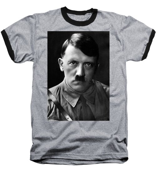 Brooding Portrait Of Adolf Hitler Heinrich Hoffman Photo Circa 1935 Baseball T-Shirt