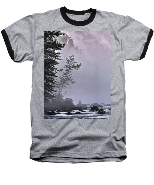 Baseball T-Shirt featuring the photograph Brooding River by Tom Cameron