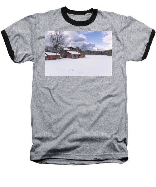 Brookline Winter Baseball T-Shirt by Tom Singleton
