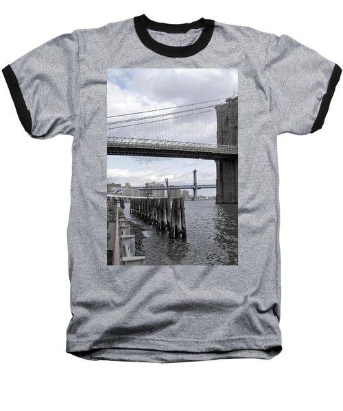 Brooklyn Bridge II Baseball T-Shirt