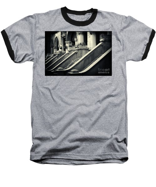 Brooklyn Park Slope Stoops Baseball T-Shirt