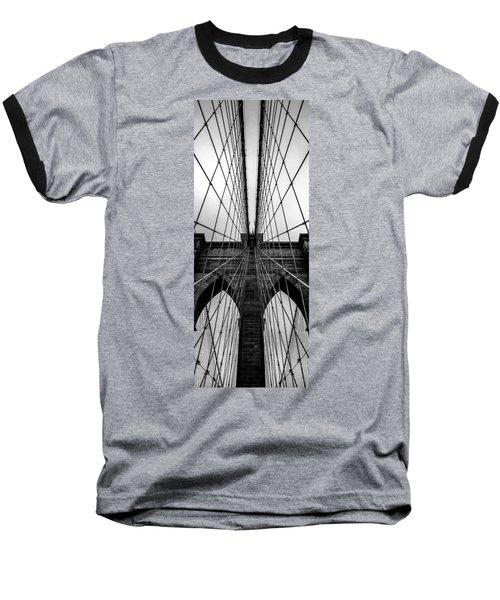 Brooklyn's Web Baseball T-Shirt