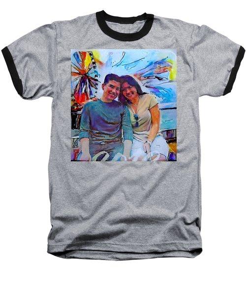 Brother And Sister Love Baseball T-Shirt