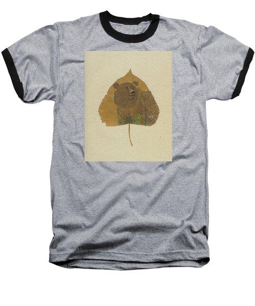Brow Bear #2 Baseball T-Shirt