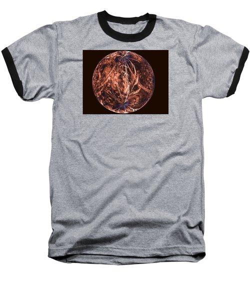 Brown Artificial Planet Baseball T-Shirt