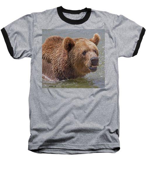 Brown Bear 10 Baseball T-Shirt