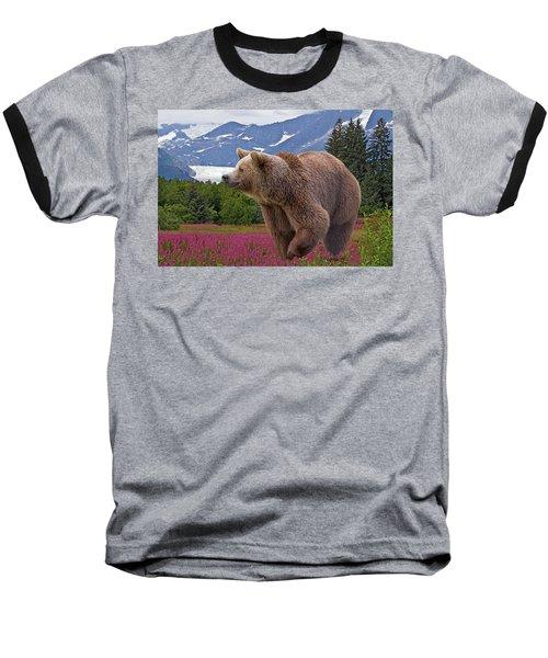 Brown Bear 2 Baseball T-Shirt