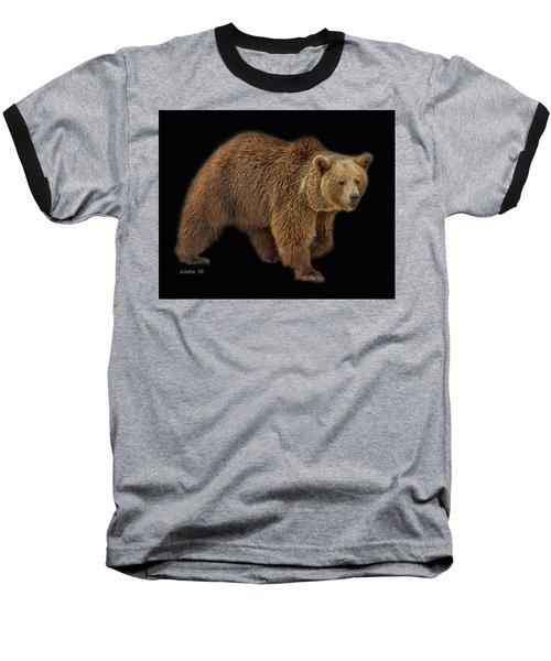 Brown Bear 5 Baseball T-Shirt