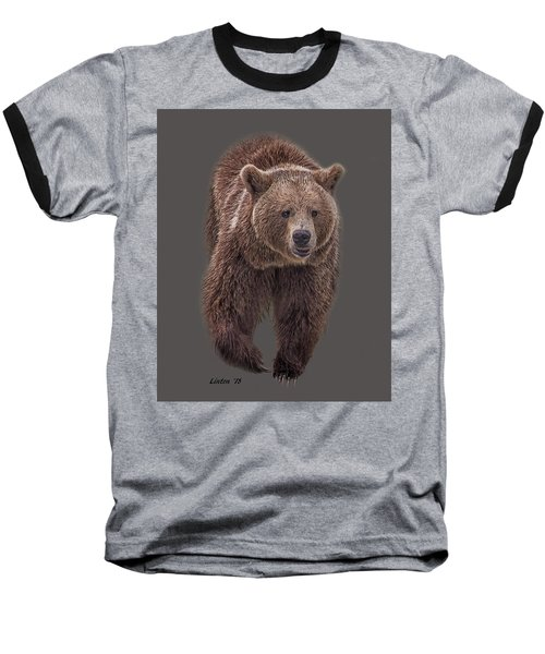 Brown Bear 8   Baseball T-Shirt