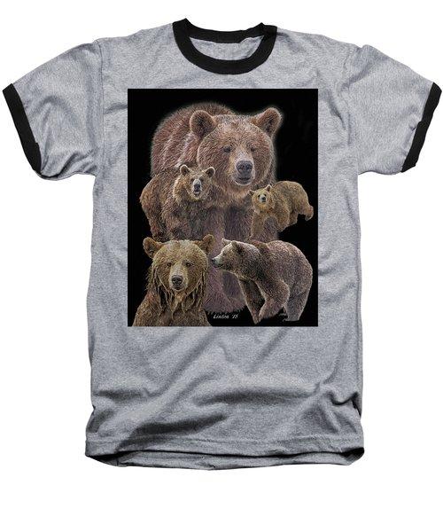 Brown Bears 8 Baseball T-Shirt