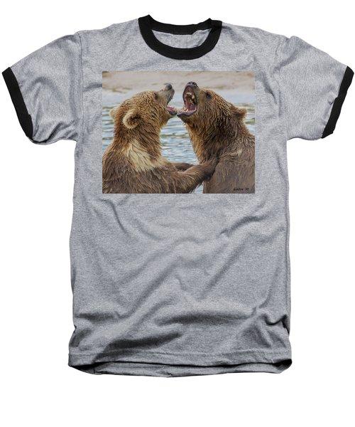 Brown Bears4 Baseball T-Shirt