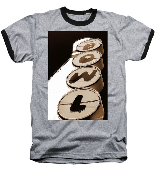 Brown Bowl Baseball T-Shirt