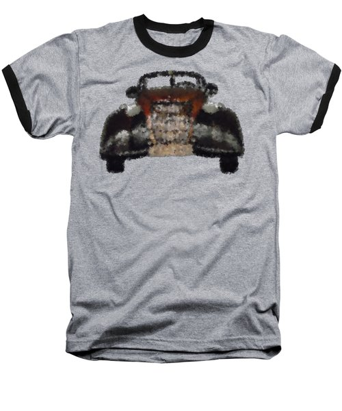 Brown Car Baseball T-Shirt by David and Lynn Keller