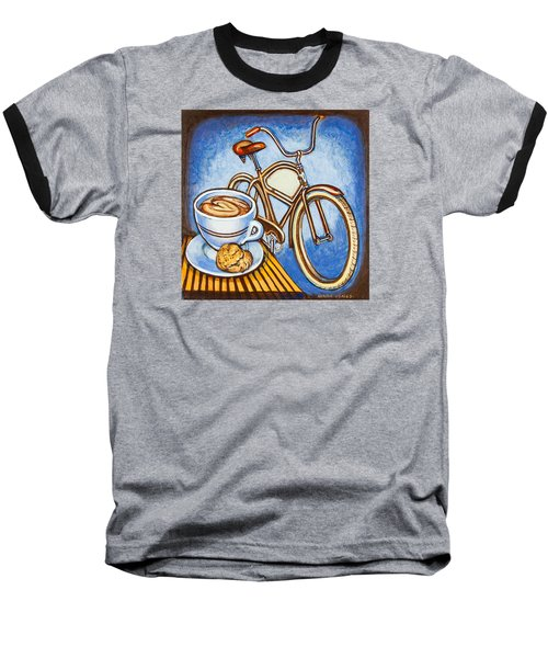 Brown Electra Delivery Bicycle Coffee And Amaretti Baseball T-Shirt