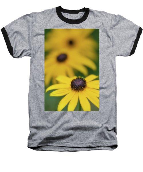 Brown Eyed Susan Baseball T-Shirt