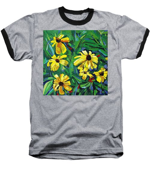Brown-eyed Susans Baseball T-Shirt