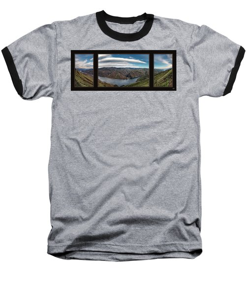 Baseball T-Shirt featuring the photograph Brownlee Triptych by Leland D Howard
