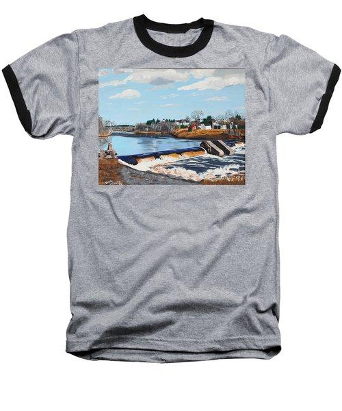 Brownville Village Dam Baseball T-Shirt