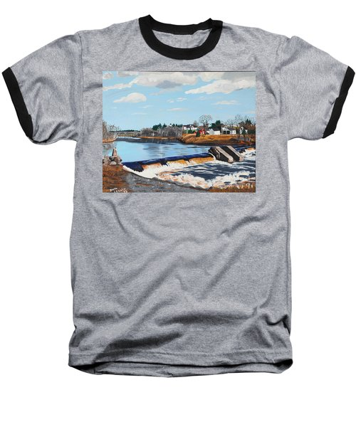 Brownville Village Dam Baseball T-Shirt