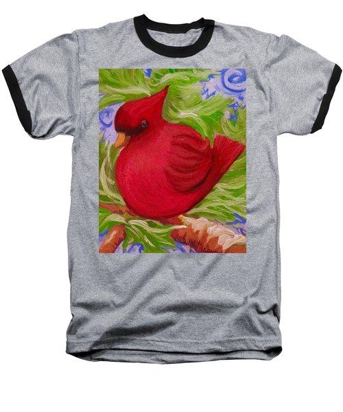 Brrr Bird Baseball T-Shirt