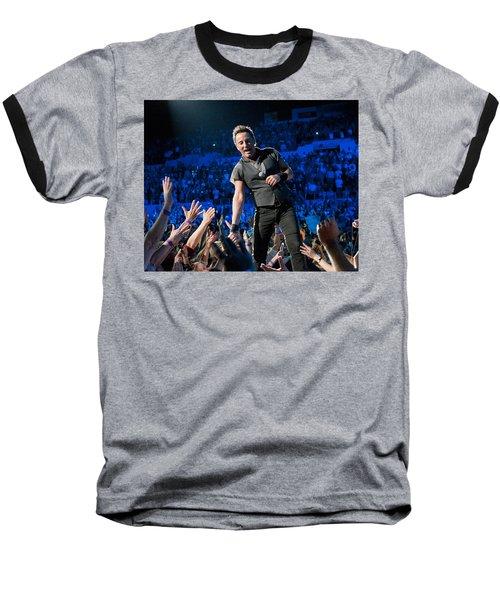 Bruce Springsteen La Sports Arena Baseball T-Shirt