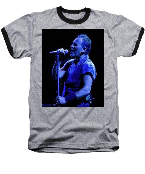 Bruce Springsteen-penn State 4-18-16 Baseball T-Shirt by Jeff Ross