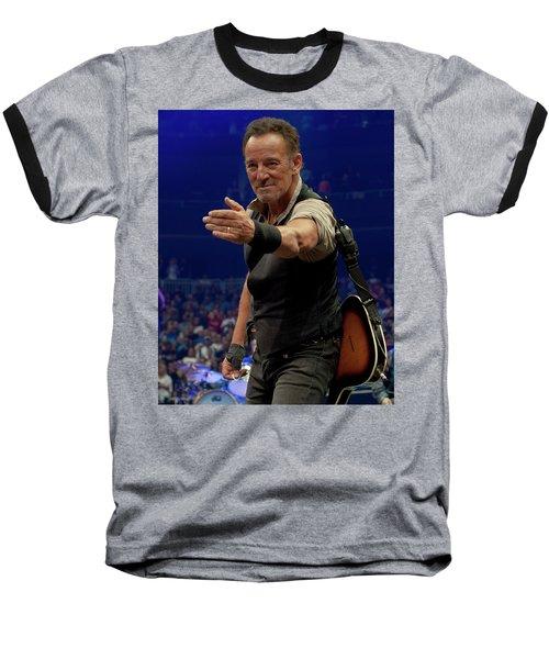 Bruce Springsteen. Pittsburgh, Sept 11, 2016 Baseball T-Shirt