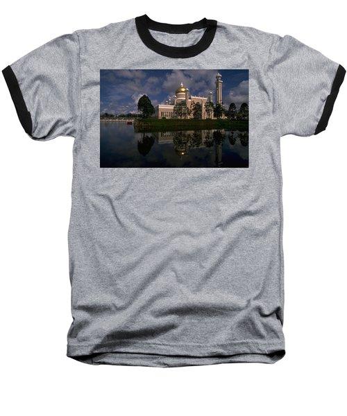 Brunei Mosque Baseball T-Shirt