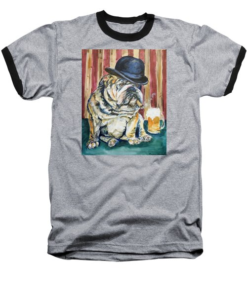 Baseball T-Shirt featuring the painting Bruno by P Maure Bausch