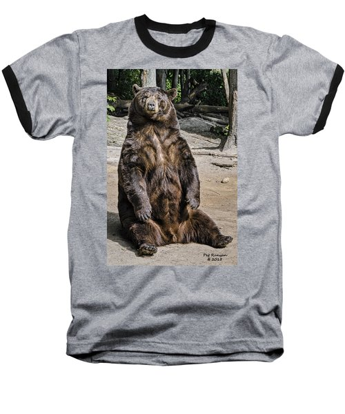 Bruno The Bear Baseball T-Shirt