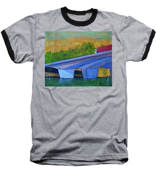Brunswick River Bridge Baseball T-Shirt