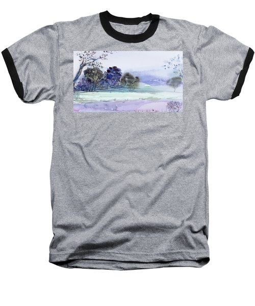 Bruny Island At Dusk Baseball T-Shirt