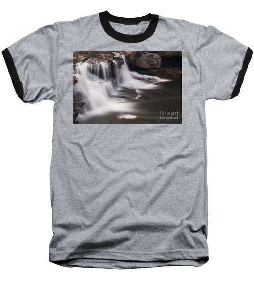 Brush Creek Falls Baseball T-Shirt by Mel Petrey