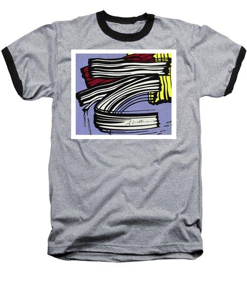 Brushstroke -1965 Baseball T-Shirt