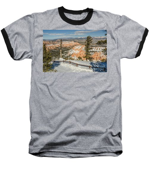 Bryce Amphitheater From Bryce Point Baseball T-Shirt by Sue Smith