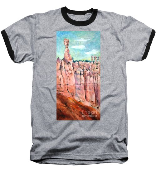 Bryce Canyon #1  Baseball T-Shirt by Betty M M Wong