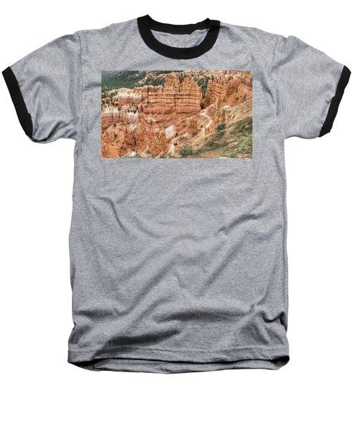 Bryce Canyon Baseball T-Shirt by Geraldine Alexander