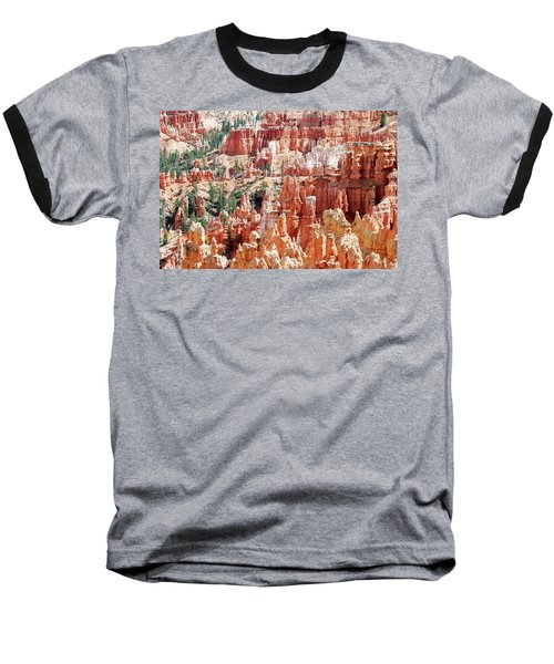 Bryce Canyon Hoodoos Baseball T-Shirt