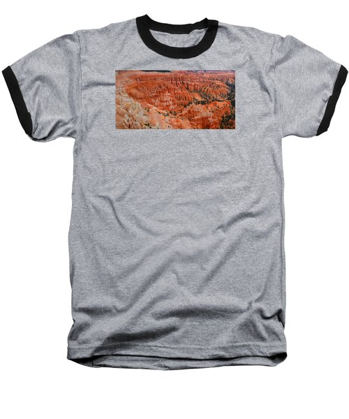 Bryce Canyon Megapixels Baseball T-Shirt by Raymond Salani III