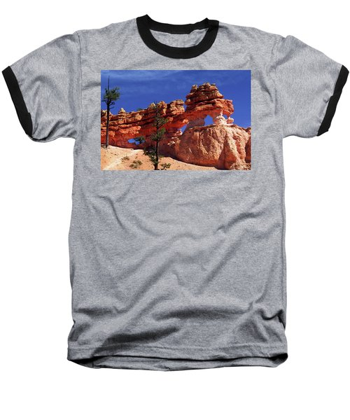 Bryce Canyon National Park Baseball T-Shirt by Sally Weigand