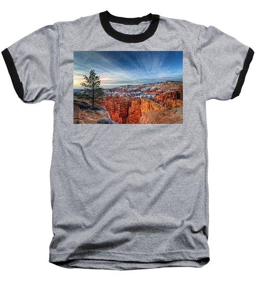Bryce Canyon Sunrise Baseball T-Shirt