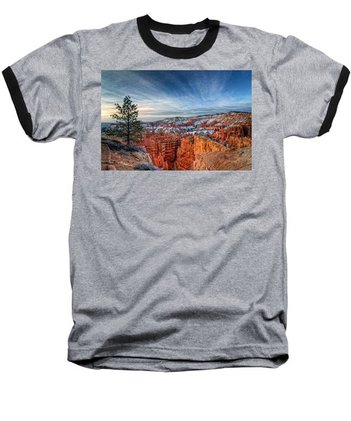 Bryce Canyon Sunrise Baseball T-Shirt