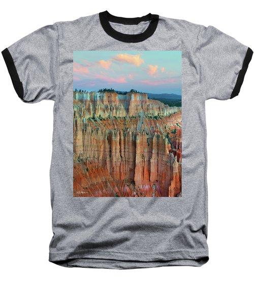 Bryce Canyon Baseball T-Shirt by Tim Fitzharris