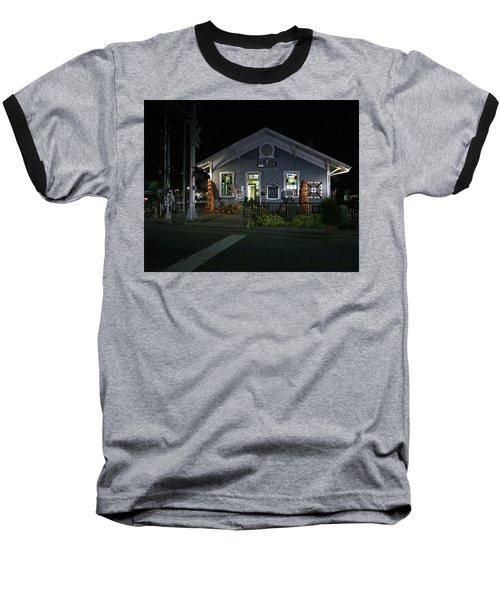 Bryson City Train Station Baseball T-Shirt by Lamarre Labadie