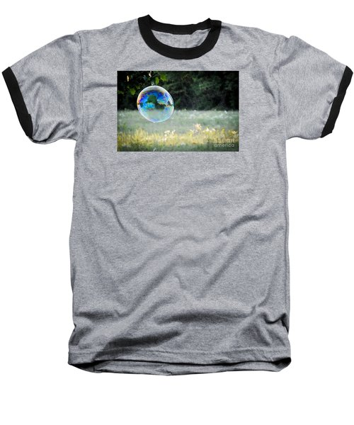 Baseball T-Shirt featuring the photograph Bubble by Cheryl McClure