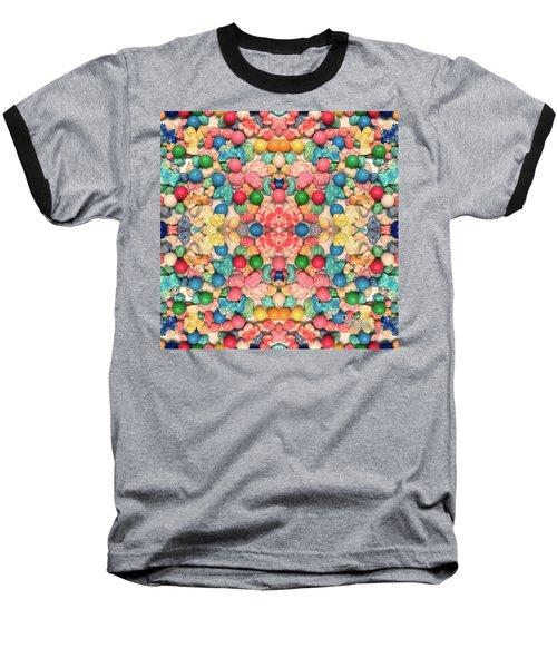 Baseball T-Shirt featuring the digital art Bubble Gum #9776 by Barbara Tristan