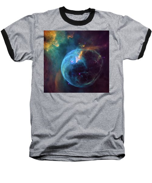 Baseball T-Shirt featuring the photograph Bubble Nebula by Marco Oliveira