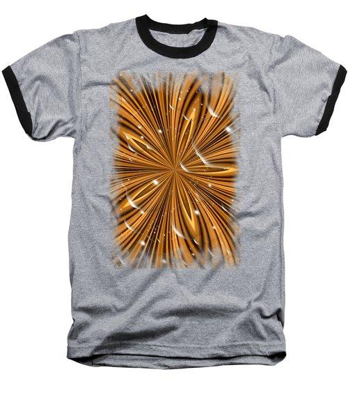 Bubble Stripes Baseball T-Shirt by Bonfire Photography